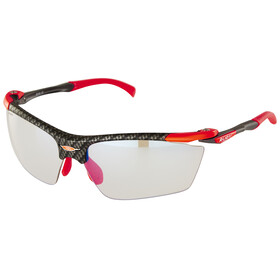 Rudy Project Proflow Glasses Carbonium/ImpactX Photochromic 2 Laser Red